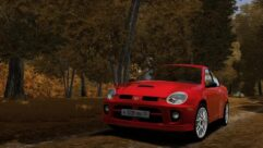 2005 Dodge Neon SRT4 (1.5.9) - City Car Driving мод (изображение 6)