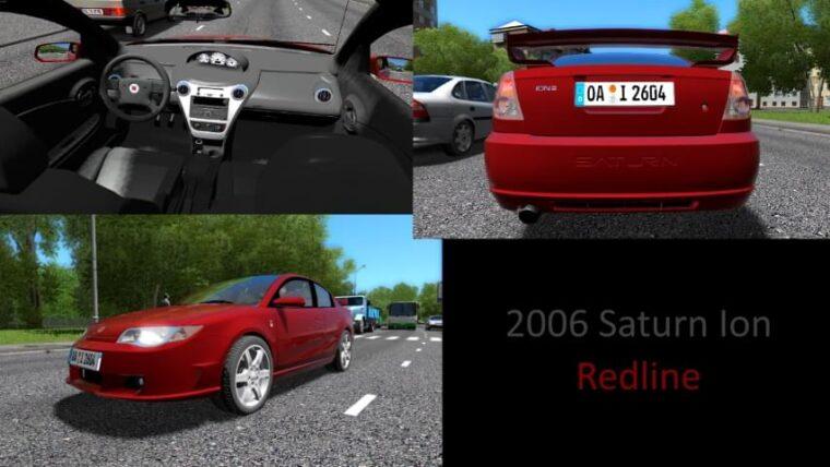 2006 Saturn Ion Redline (1.5.9) - City Car Driving мод