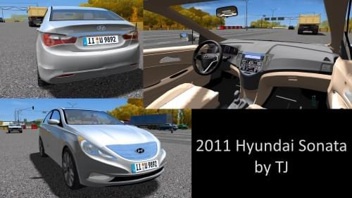 2011 Hyundai Sonata (1.5.9) - City Car Driving мод