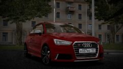 2015 Audi S1 (1.5.9) - City Car Driving мод