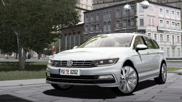 2016 Volkswagen Passat Wagon R-Line (1.5.9) - City Car Driving мод