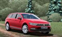 2016 Volkswagen Passat Wagon R-Line (1.5.9) - City Car Driving мод (изображение 2)