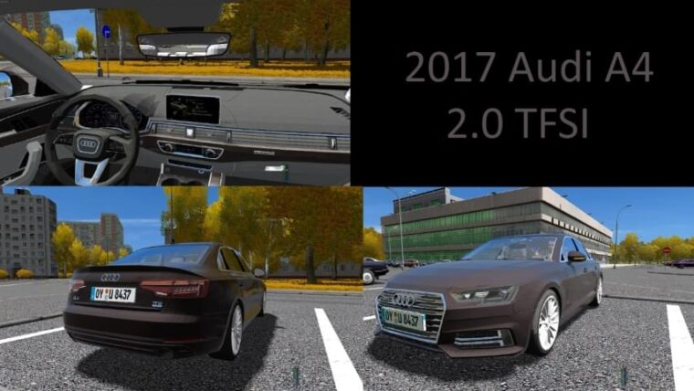 2017 Audi A4 (1.5.9) - City Car Driving мод