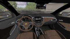 2017 Chevrolet Malibu (1.5.9) - City Car Driving мод (изображение 2)