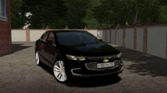 2017 Chevrolet Malibu (1.5.9) - City Car Driving мод (изображение 3)
