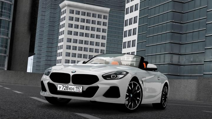 2019 BMW Z4 M40i (1.5.9) - City Car Driving мод