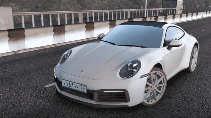 2019 Porsche 911 Carrera S (992) (1.5.9) - City Car Driving мод