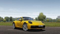 2019 Porsche 911 Carrera S (992) (1.5.9) - City Car Driving мод (изображение 8)