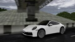 2019 Porsche 911 Carrera S (992) (1.5.9) - City Car Driving мод (изображение 9)