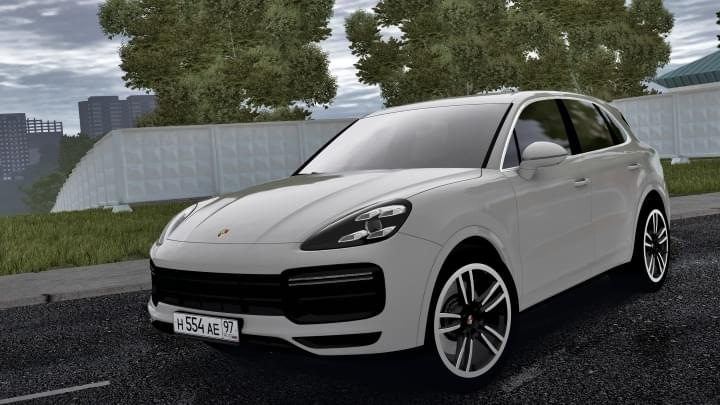 2019 Porsche Cayenne Turbo (1.5.9) - City Car Driving мод