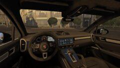 2019 Porsche Cayenne Turbo (1.5.9) - City Car Driving мод (изображение 3)