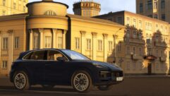 2019 Porsche Cayenne Turbo (1.5.9) - City Car Driving мод (изображение 4)