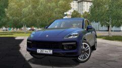 2019 Porsche Cayenne Turbo (1.5.9) - City Car Driving мод (изображение 8)
