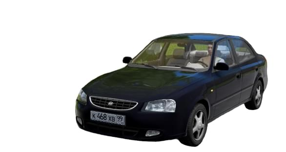 Hyundai Accent (1.5.9) - City Car Driving мод
