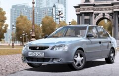 Hyundai Accent (1.5.9) - City Car Driving мод (изображение 2)