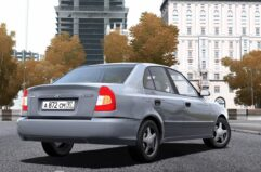 Hyundai Accent (1.5.9) - City Car Driving мод (изображение 3)