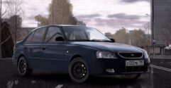 Hyundai Accent (1.5.9) - City Car Driving мод (изображение 4)
