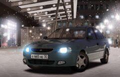 Hyundai Accent (1.5.9) - City Car Driving мод (изображение 6)