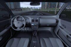 Hyundai Accent (1.5.9) - City Car Driving мод (изображение 7)
