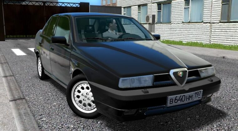 Alfa Romeo 155 (1.5.9) - City Car Driving мод