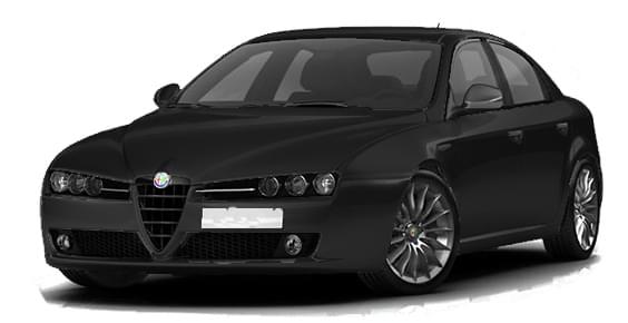 Alfa Romeo Brera 2009 (1.5.9) - City Car Driving мод