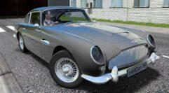 Aston Martin DB5 (1.5.9) - City Car Driving мод