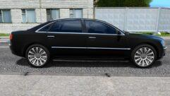 Audi A8 (1.5.9) - City Car Driving мод (изображение 2)