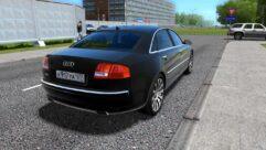 Audi A8 (1.5.9) - City Car Driving мод (изображение 3)