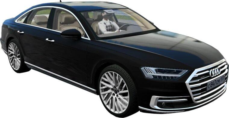 Audi A8 4.0 TFSI Quattro 2018 (1.5.9) - City Car Driving мод