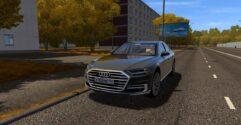 Audi A8 4.0 TFSI Quattro 2018 (1.5.9) - City Car Driving мод (изображение 2)