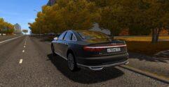 Audi A8 4.0 TFSI Quattro 2018 (1.5.9) - City Car Driving мод (изображение 3)