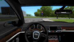 Audi A8 (1.5.9) - City Car Driving мод (изображение 4)