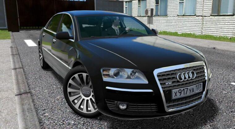 Audi A8 W12 07′ (1.5.9) - City Car Driving мод