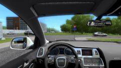 Audi Q7 (1.5.9) - City Car Driving мод (изображение 4)