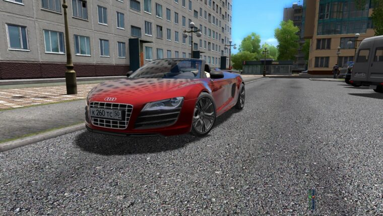 Audi R8 GT Spyder (1.5.9) - City Car Driving мод