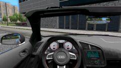 Audi R8 GT Spyder (1.5.9) - City Car Driving мод (изображение 2)