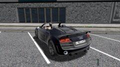 Audi R8 GT Spyder (1.5.9) - City Car Driving мод (изображение 6)