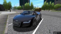Audi R8 GT Spyder (1.5.9) - City Car Driving мод (изображение 5)