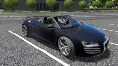Audi R8 GT Spyder (1.5.9) - City Car Driving мод (изображение 4)