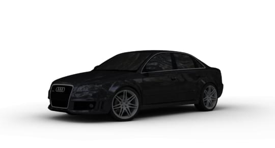 Audi RS4 (1.5.9) - City Car Driving мод