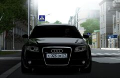 Audi RS4 (1.5.9) - City Car Driving мод (изображение 2)