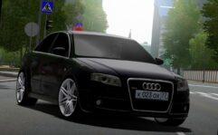 Audi RS4 (1.5.9) - City Car Driving мод (изображение 3)