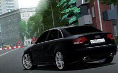 Audi RS4 (1.5.9) - City Car Driving мод (изображение 4)