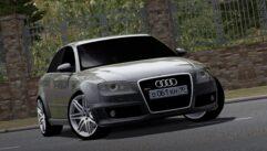 Audi RS4 (1.5.9) - City Car Driving мод (изображение 5)