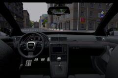 Audi RS4 (1.5.9) - City Car Driving мод (изображение 6)