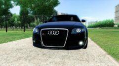 Audi RS4 (1.5.9) - City Car Driving мод (изображение 7)