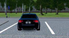 Audi RS4 (1.5.9) - City Car Driving мод (изображение 8)
