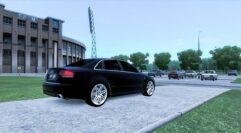 Audi RS4 (1.5.9) - City Car Driving мод (изображение 9)