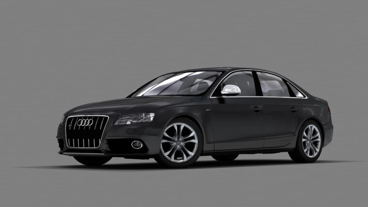 Audi S4 2010 (1.5.9) - City Car Driving мод