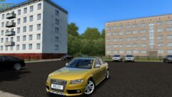 Audi S4 2010 (1.5.9) - City Car Driving мод (изображение 2)